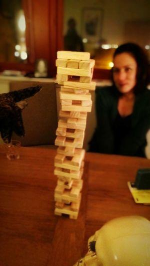 Jenga Jeopardy Imminent Disaster Balance