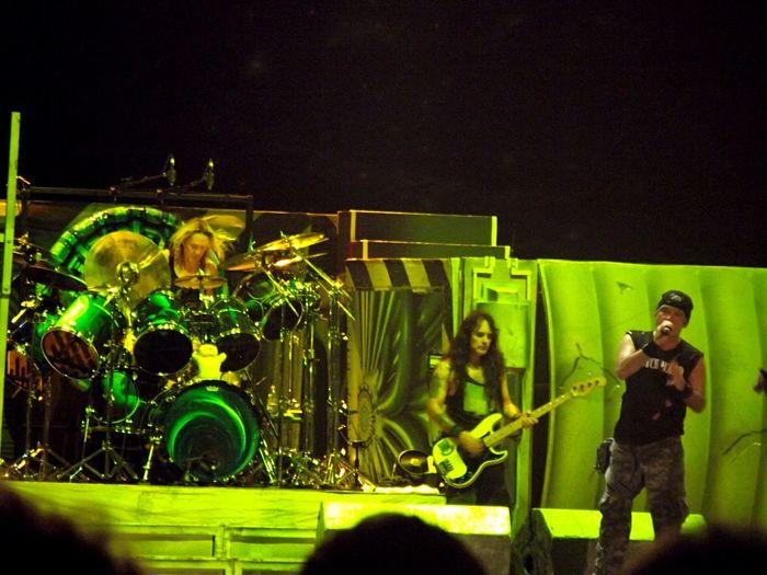 Bruce, Steve and Nicko... Miss these Powerslave! Powerslave Ironmaiden Metal Showemrecife