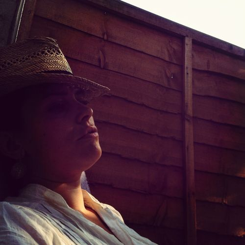 Convalescing in the evening sunlight.. And yes.. I am feeling a little blue today I am sorry to say.. Sigh....