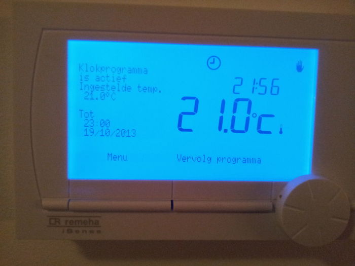 Took a bit of hard work today but our central heating system is up and running Tech Relaxing