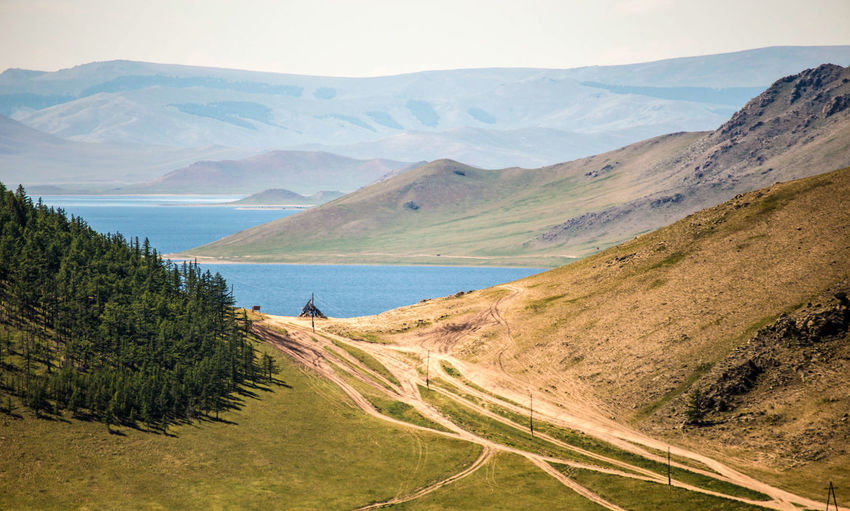 Photo taken in Mongolia, Khorgo Mongolia Scenics - Nature Mountain Water Lake Forest