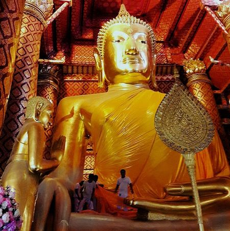 Religion Spirituality Sculpture Travel Destinations Indoors  Big Buddha Statue Faith&devotion Thai Temple EyeEmNewHere
