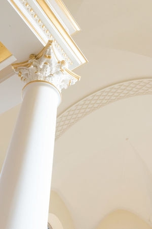 Derby Cathedral Cathedral Architectural Column Architectural Feature Architecture Built Structure Ceiling City Day Gold Colored Indoors  Low Angle View No People Religious Architecture White