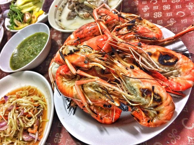 Food Food And Drink Food Freshness Seafood Healthy Eating Plate Ready-to-eat Table