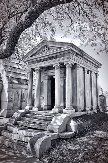 Metairie Cemetery, New Orleans, LA Jay_silva Malephotographerofthemonth EyeEm Best Shots Black & White Check This Out Traveling Haunted New Orleans ❤✔. Taking Photos Cemetery