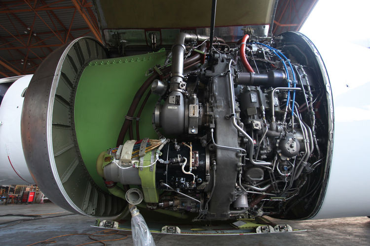 Jet Engine Airplane