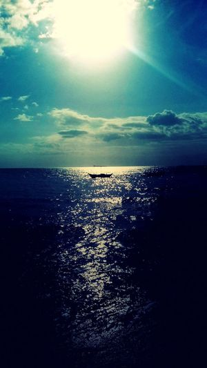 Taking Photos On The Beach Clouds And Sky Sun Sunset Water Reflections Boats Relaxing BE BLESSED  Have A Nice Day♥