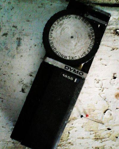 Abandoned things Abandoned Things Dymo