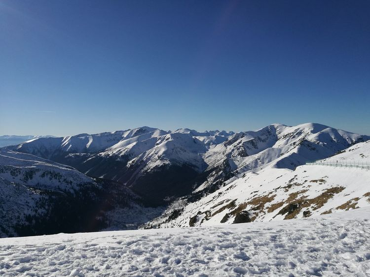Just my little piece of heaven. Mountain Landscape Snow Winter Snowcapped Mountain Cold Temperature Mountain Range Clear Sky Nature Beauty In Nature Sky
