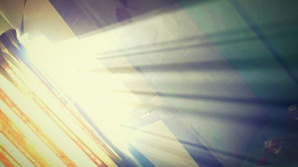 Sunrays Through The Window