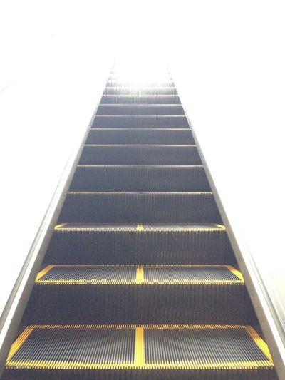 Escalator Subway Light Life Journey