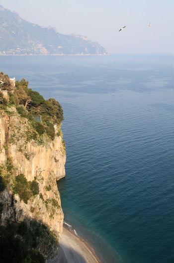 Amalfi  Amalfi Coast Beauty In Nature Flying Horizon Over Water Idyllic Nature No People Outdoors Scenics Sea Tranquil Scene Tranquility Water
