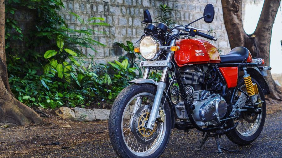 Continental GT. Bike Royalenfield Caferacer Royalenfieldbeasts Royalenfieldindia Continentalgt Bikelife🚲 Bikelove Bikeride Redbeast India Beast Speed Sound