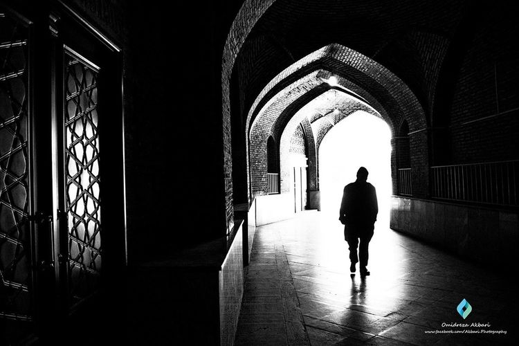 By: omidreza akbari Stree Photography Black & White