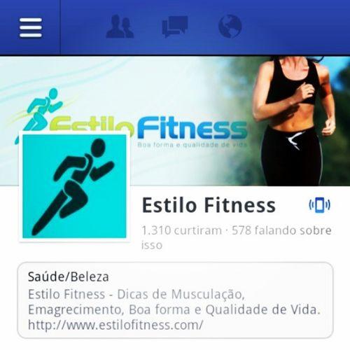 Curta nossa pagina no facebook: Estilo Fitness! Like Facebook Page EstiloFitnessBr Fitness Gym Brazil Workout