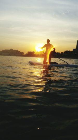 Sup Standuppaddle Beachlife Sea Sunset_collection Sunrise_sunsets_aroundworld