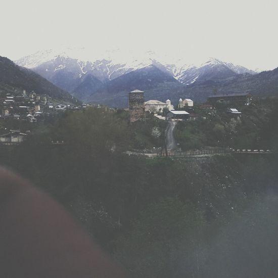 Panorama Svaneti Svanetia Georgia Mestia