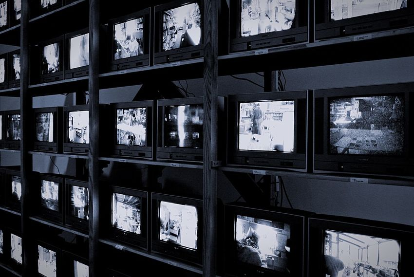 Tv Television Televisionset Programme Watch Watching Screen Screens Vintage Shelves Shelf Blackandwhite Black And White Technology Past History Leading Lines Television Set Television Sets Old Technology Old Television Vintage Technology Vintage Television Lieblingsteil Welcome To Black