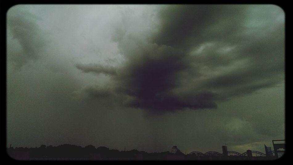 Latvia Riga Clouds And Sky