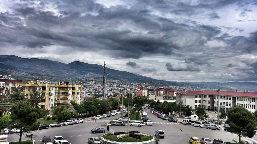 Kahramanmaraş Abdülhamidhancamii City Rainy Days