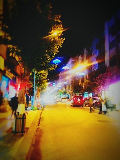 Merzifon Night City Lights Discoveryourcountry