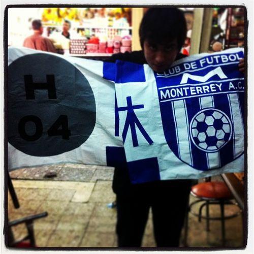 Viajealazteca Mty Pandillaroppongi H04 roppongi clubdefutbolmonterrey club de futbol monterrey almost cfm rayados hibiyaline tokyo japan supporters