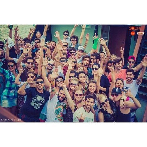Festa mais q perfeita! Soundsindaboat Florianópolis Floripa Sol enjoy happy