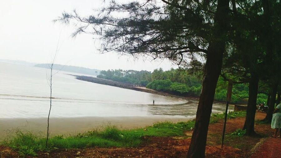 Siridao Goa Beach Taking Photos Summer