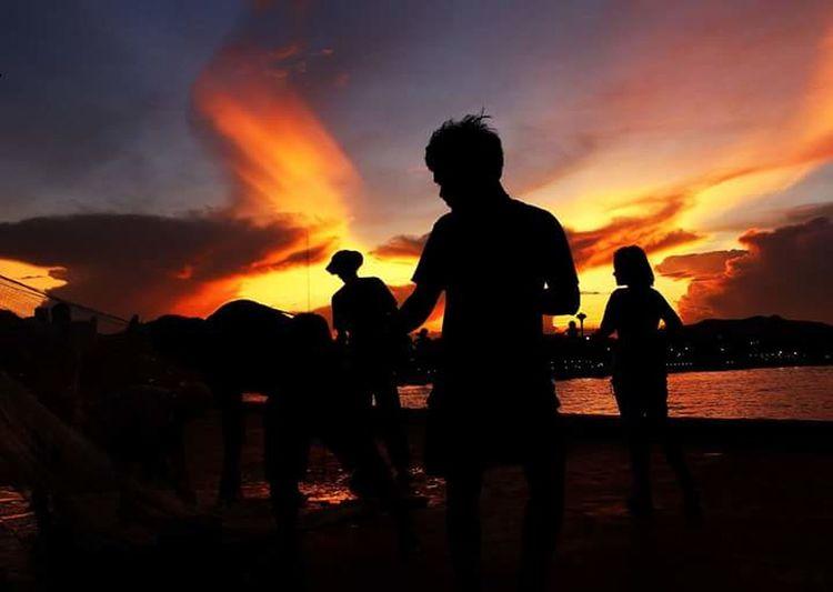 #FREIHEITBERLIN Water Sunset Silhouette Sky Cloud - Sky
