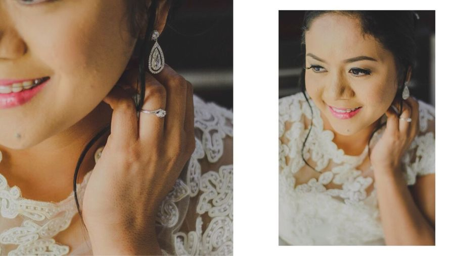 Beautiful Woman Headshot Wedding Day Weddingportraits