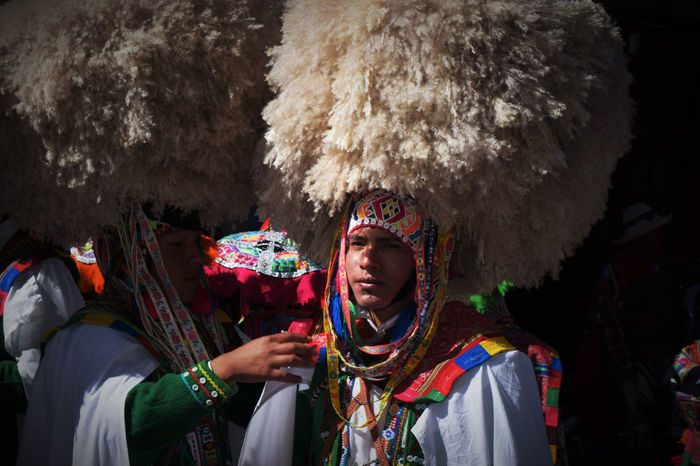 Backstage EyeEmNewHere Peru Peru Traveling Adult Big Hat Celebration Customs Day Front View Lifestyles Men Multi Colored People Performance Real People Standing Traditional Festival