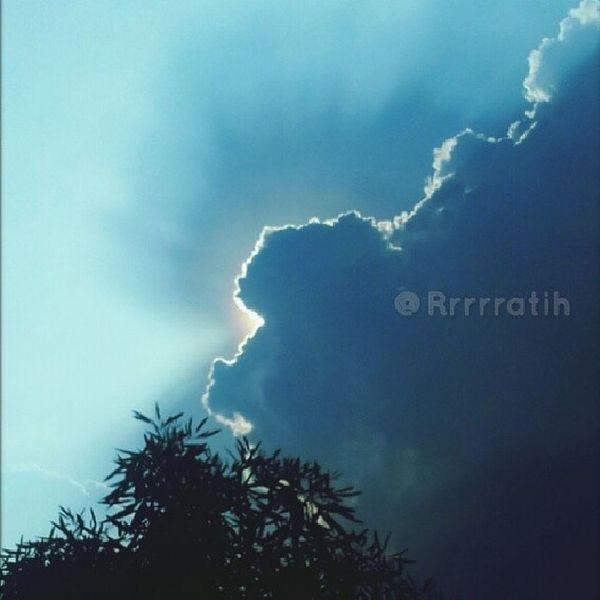 When the sun is hiding.. Clouds Afternoon Sky Lippocikarang cloudy