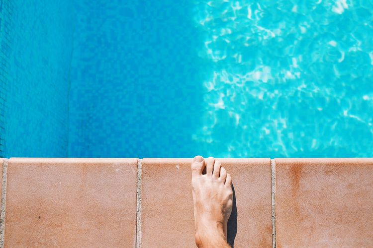 Refreshing Summervibes Poolside Travel Turquoise Marbella SPAIN Vacation Summer Views Cool Swimming Pool