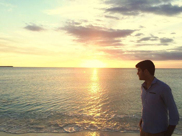 Playa Beach Model Beuty Sun Sunset Sea