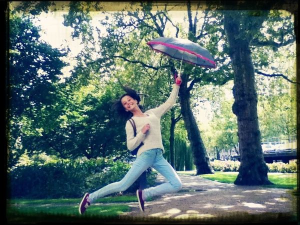 I believe I can fly. Mary Poppins Amsterdam