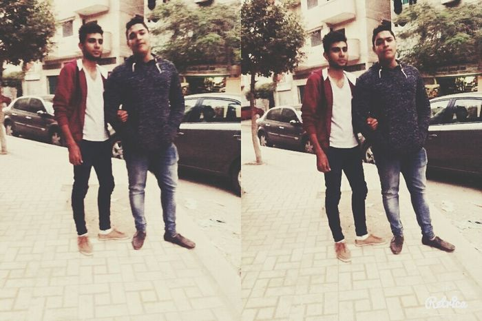 With Ahmed Shebl <3