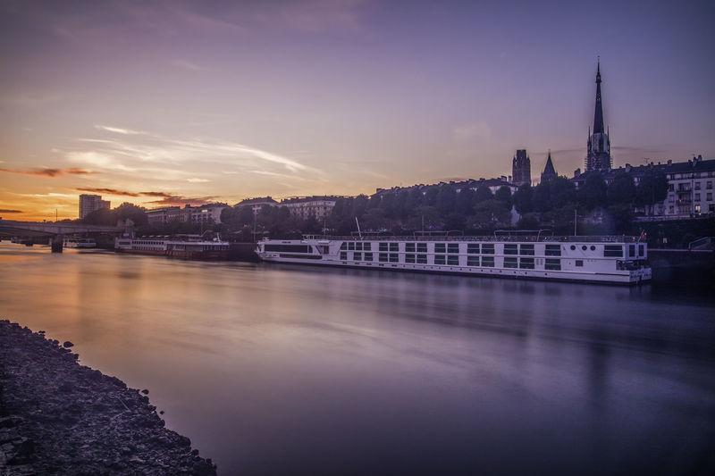 Best Of EyeEm Cruise Holiday Normandie Oroszphotography River Rouen Rouen, France Seine Seine River Sunset Travel Destinations