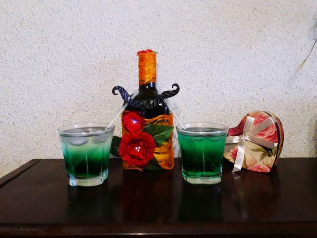 Мохито мятный Drinking Glass Indoors