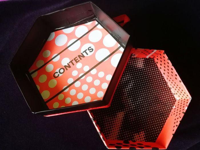 Gift box My Handmade Craft Handmafe Box Gift Box Box Black Background Christmas Present Birthday Present Unwrapping Gift