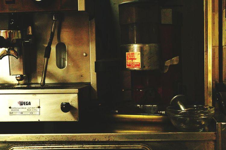 Coffee Time Espresso Machine Making Coffee At The Bar Italy Espresso Bar Italian Style Coffee Shop Wega
