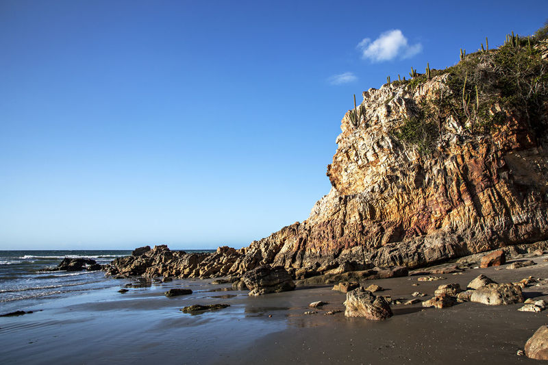 Cliff near the