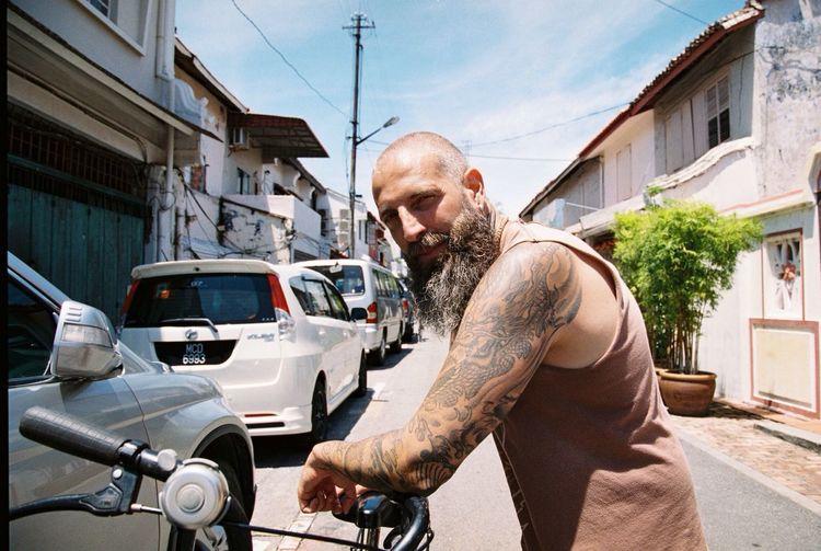 Belong Anywhere The Portraitist - 2014 EyeEm Awards Film Photography Tattoo