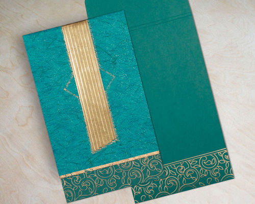 Envelope: Made from Turquoise Color, Matt Paper Card: Made from Turquoise Color, Matt Paper, Designer Paper Inserts: Insert : Made from Turquoise Color, Matt Paper Insert 2: Turquoise Color, Matt Paper Visit here to but: https://www.123weddingcards.com/card-detail/W-1438 BOX THEMED INVITATIONS Designer Wedding Invitations EMBOSSED WEDDING INVITATIONS Embossing Wedding Invitations, Wedding Wedding Cards Online Wedding Invitations Design Wedding Invitations