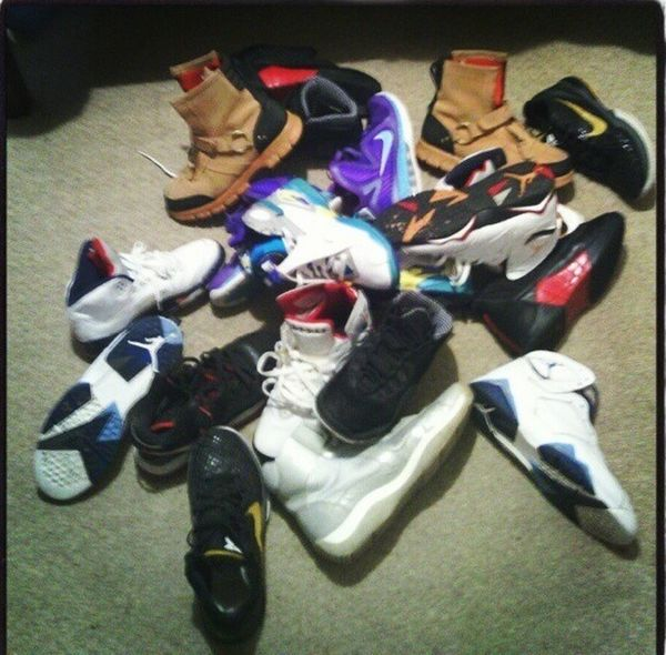 my shoes from downstairs i forgot about...lol mom told me to clean up Sneakerhead  Sneaker Porn Type Shxt  Cash Flow