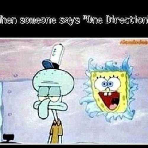 "When someone said "" Onedirection "" :) x ** Direcrioner"