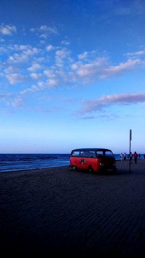 Hippy Hippyvan Colours Sky Beach Sunset Music Jurmala Latvia