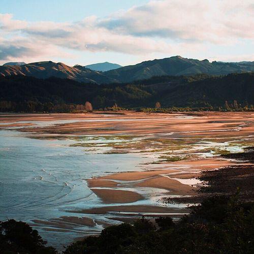 Abel Tasman national park Mountain Nature Mountain Range Landscape Travel Destinations Newzealand Abeltasman