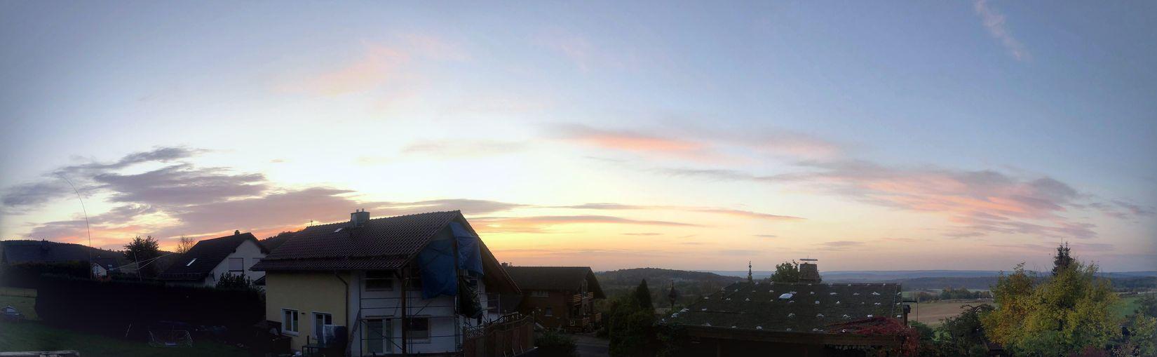 Blick am Morgen