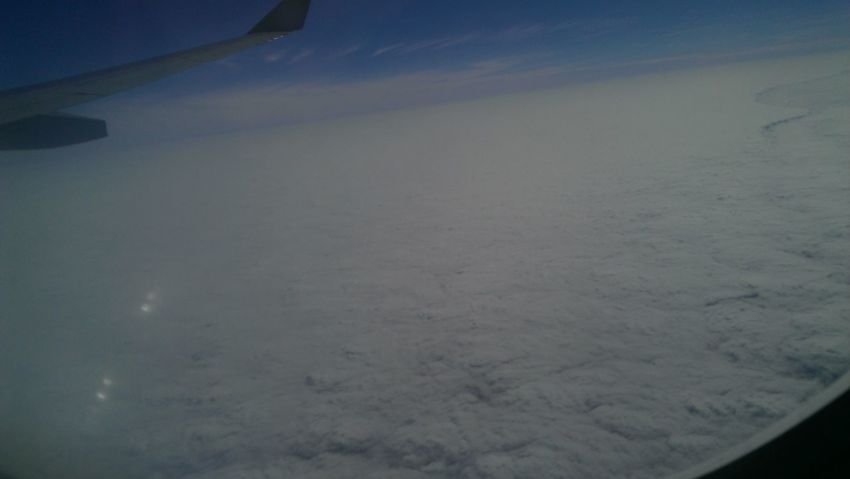 From An Airplane Window Cloud And Sky Cloud Porn