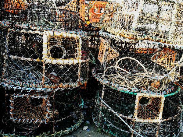 The Cobb Dorset,England Lyme Regis Harbours Lobster Pot